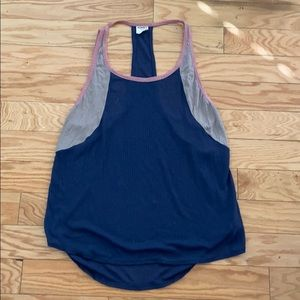 Intimately free people blue tank top